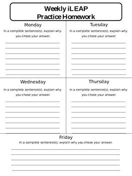 Test Prep Homework