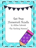 Test Prep Homework Bundle