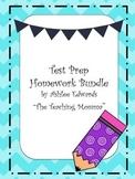 Test Prep Homework Bundle