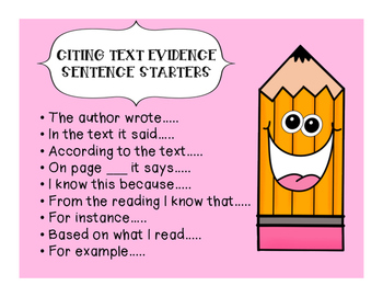 Literary Analysis Tasks; How to answer Text Dependent Open-Ended Questions