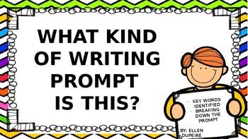 Test Prep- Identify the Prompt!