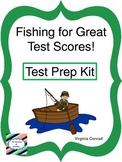 Test Prep Kit--Fishing for Great Test Scores!  Fishing Theme