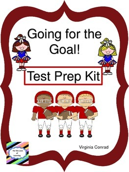 Test Prep Kit--Going for the Goal!  Football Theme