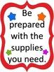 Test Prep Kit--Reach for the Stars!  Star Theme