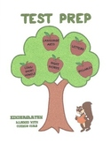 Test Prep Language Arts Common Core (Grade K)