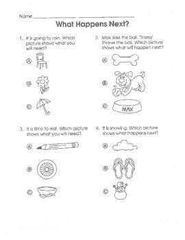 Test Prep Language Arts Common Core (Grade K)