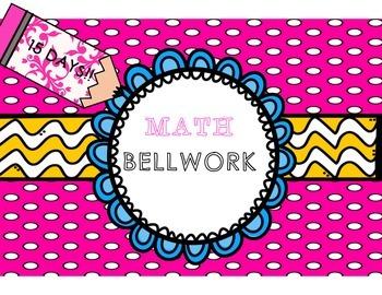 Test-Prep Math Bellwork