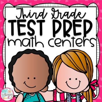 Test Prep Third Grade Math Centers