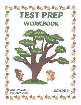 Test Prep Math Common Core (Grade 2)