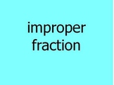 Test Prep Math Vocabulary Power Points 1