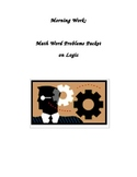 Test Prep Math Word Problems Morning Work Packet: LOGIC
