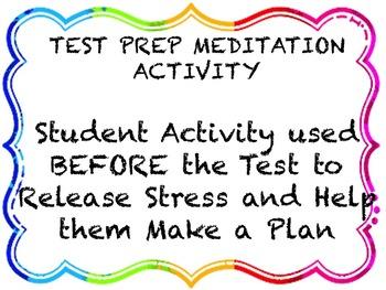Test Prep Meditation Activity
