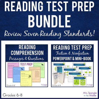 Test Prep:  Middle School Reading Skills Review