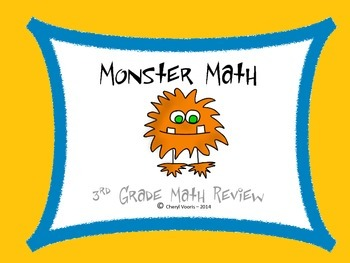 3rd Grade Math Review Game