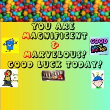 Test Prep Motivational Messages