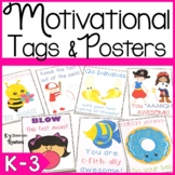 Inspirational Student Gift Tags and Signs
