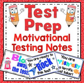 Test Prep: Motivational Testing Notes FREEBIE