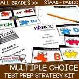 Test Prep Multiple Choice Strategy Kit | STAAR Test Prep | PARCC Test Prep