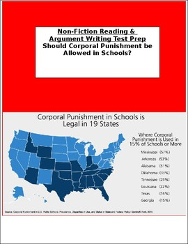 Test Prep: Non-Fiction Reading and Argument Writing