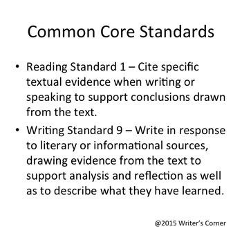 Non-Fiction Test Prep, Levels A, B, C ELA Constructed Response Assessment