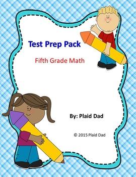 Test Prep Pack Fifth Grade Math
