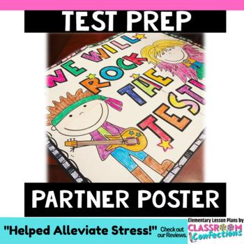 Test Prep Partner Poster: A 4-Panel Collaboration Poster