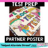 Test Prep Motivation Partner Poster: A 4-Panel Collaborative Poster
