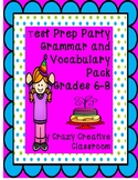 Test Prep Party Grammar and Vocabulary Pack Grades 6-8
