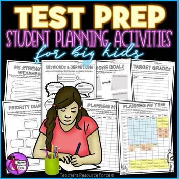 Test Prep: Graphic Organizers Planning activities