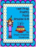 Test Prep Poetry Pack Grades 6-8
