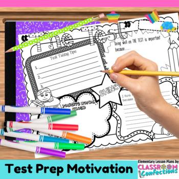 Test Prep Activity Poster