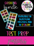 Test Prep Poster Growing Bundle