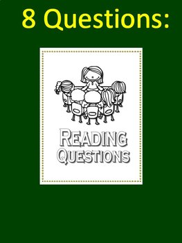 Test Prep Poster Set - Reading Questions for Bulletin Boards
