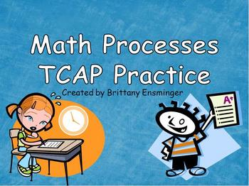 Test Prep PowerPoint: Math Processes Grade 4