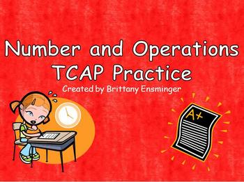 Test Prep PowerPoint: Numbers and Operations Grade 4