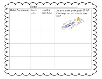 Test Prep Progress Monitoring Student Tool
