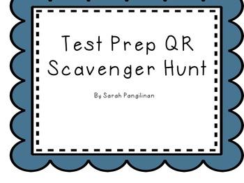 Test Prep QR Scavenger Hunt