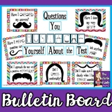 Test Prep Questions You MUSTACHE Yourself Bulletin Board