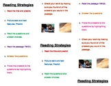 Test Prep Reading Bookmarks