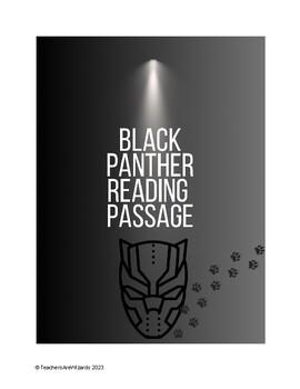 Test Prep Reading Passage: Black Panther