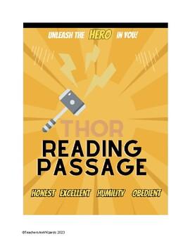 Test Prep Reading Passage: Thor & Humility