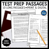 Reading Test Prep Passages and Questions