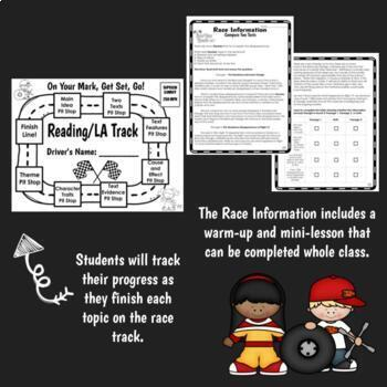 Test Prep Reading and Math Bundle