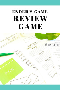 Ender's Game: Test Prep Review Game (Quick, Easy, and Fun)