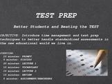 Test Prep (SAT, ACT, GRE etc.)