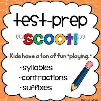 "Test Prep ""Scoot!"""