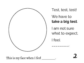 Test Prep Social Story