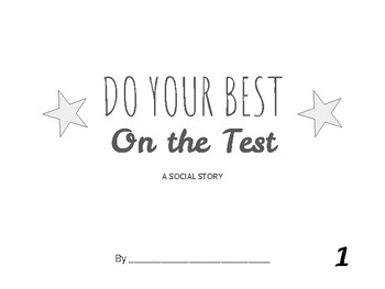Reduce Test Anxiety - Social Story