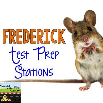 Reading Test Prep Stations for Frederick