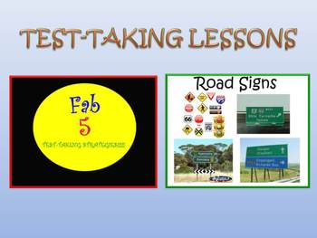 Test Prep Strategy Lessons:  Reading Response & Test-taking Strategies